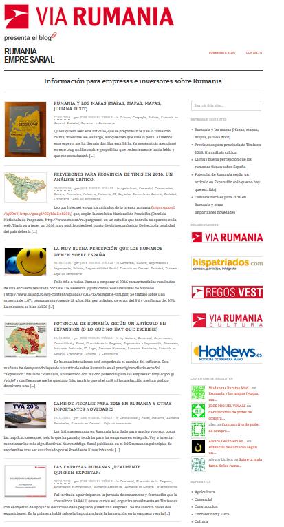 Blog Rumania Empresarial